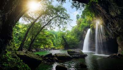 Waterfalls at Khao Yai National Park