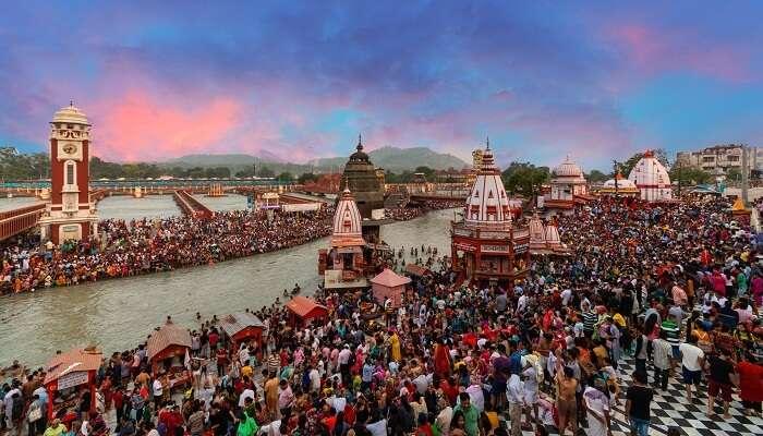 Theme park in Haridwar