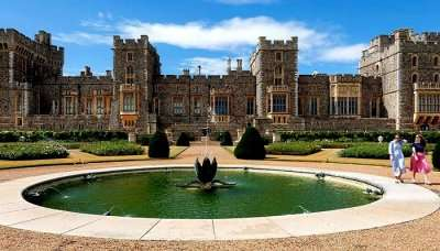 About East Garden At Windsor Castle