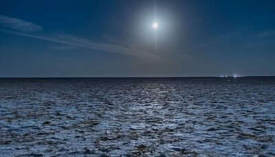 Full Moon in Rann of Kutch