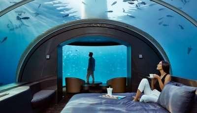 underwater stay at Conrad Maldives Rangali Island