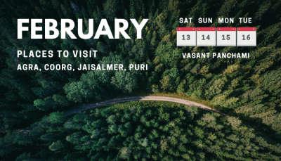 Long weekends in February 2021