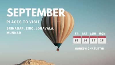 Long weekends in September 2021