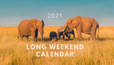 Long weekends in 2021 cover image