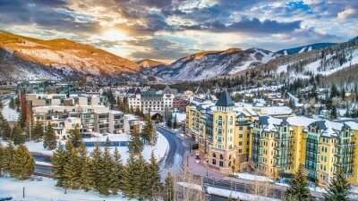 best winter vacations with snow in USA