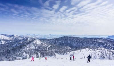 beautiful places to visit in winter in USA