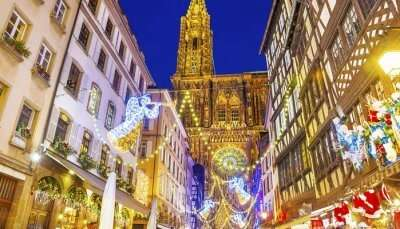 Strasbourg is home to themed Christmas villages